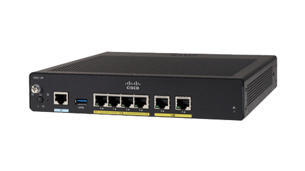Cisco 900 Series Integrated Services Routers