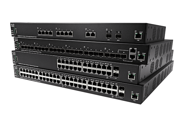 Cisco 350X Series Stackable Managed Switches