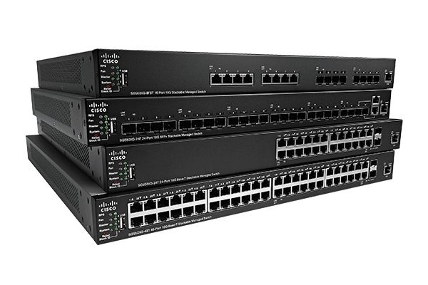 Cisco 550X Series Stackable Managed Switches​​