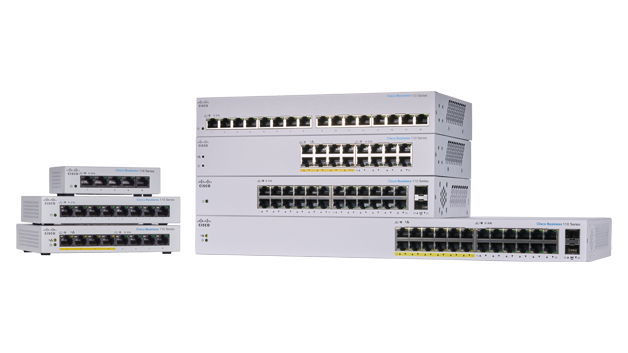Cisco Business 110 Series Unmanaged Switches