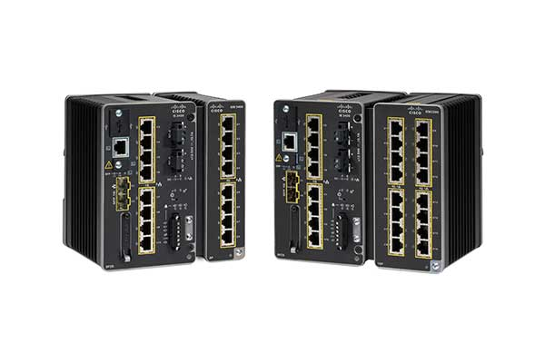 Cisco Catalyst Industrial Ethernet 3400 Rugged Series