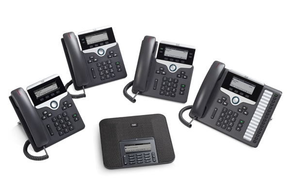 Cloud calling with Cisco IP Phone 7800 Series