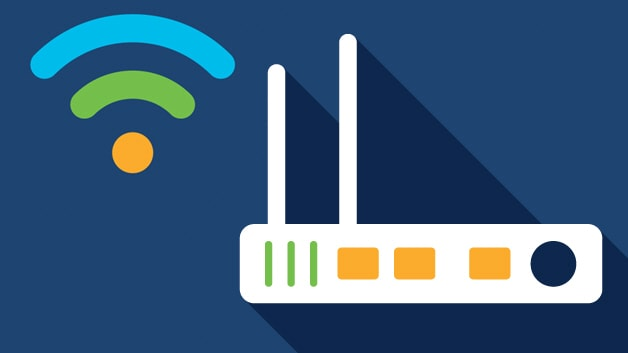 A Wireless Wi-FI Router is most commonly used in homes for internet connectivity after combining the networking functions of a wireless access point and a router.