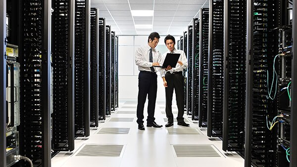 Converged infrastructure in data center