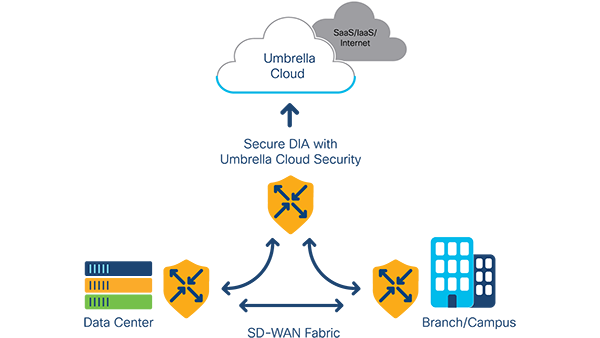 Umbrella cloud security