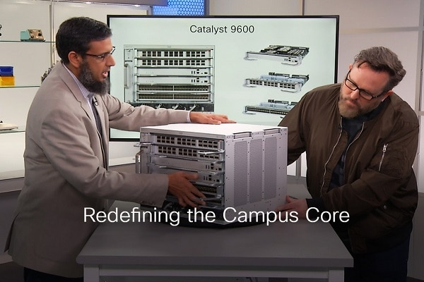 Cisco Catalyst 9600: The New Campus Core Network