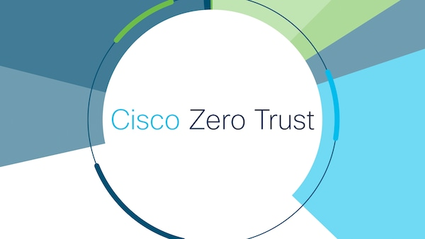 What is zero trust, and how does Cisco define it?