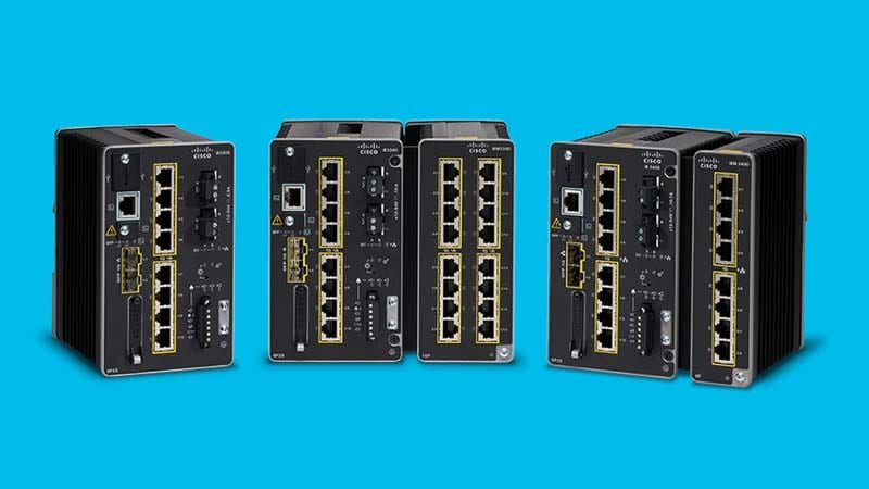 Deploy flexible, scalable and secure switching in your industrial network