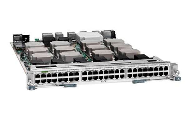 Cisco Nexus 7000 Series Enhanced F2-Series 48-Port 1 and 10GBASE-T Ethernet Module (RJ45)