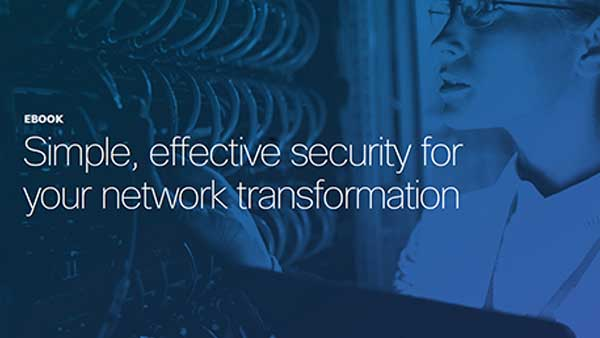 Cisco Umbrella delivers simple, effective security for growing, small, and mid-sized businesses.