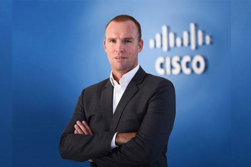 Steven Kewley - Cisco Regional Sales Manager MEA Commercial Sales