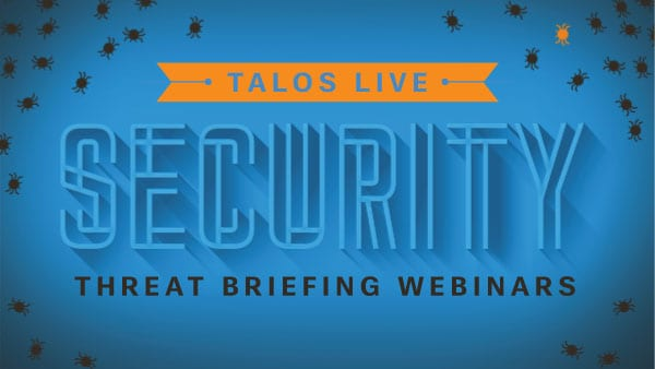 Live security webinars