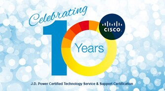 Tap into Cisco's industry recognized services