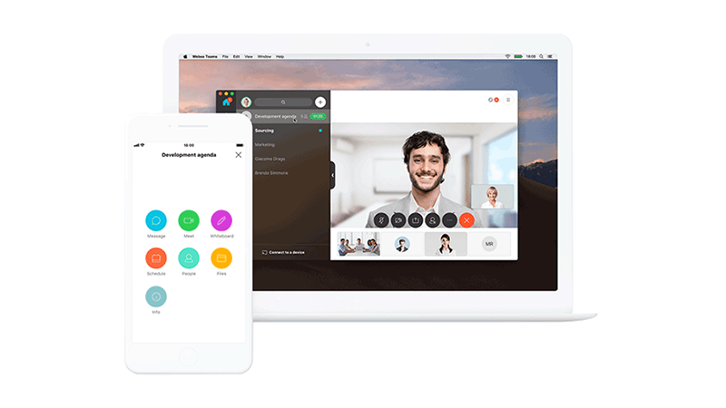Video conferencing with Webex Meetings