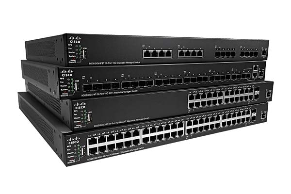 550X Series Stackable Managed Switches