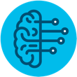 marketing icon for artificial intelligence