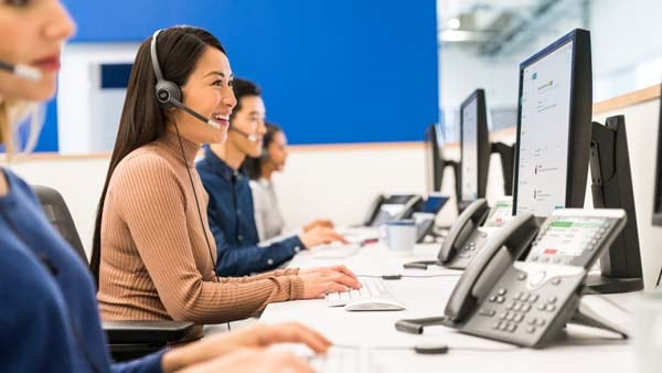 Enterprise cloud contact center