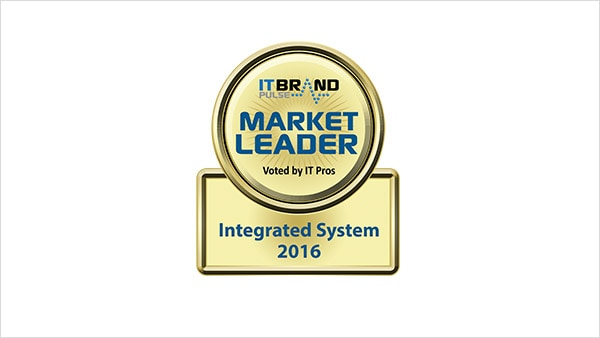 Cisco leads in integrated systems