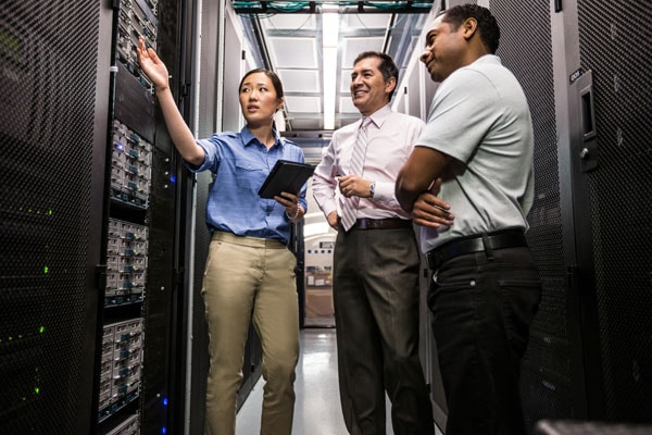 Managed services for data center