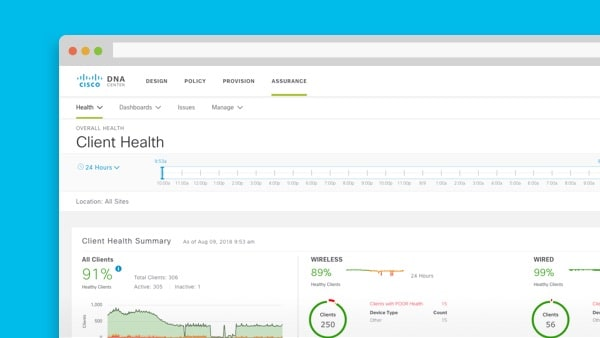 Live instant demo: Walk-through: Cisco DNA Assurance
