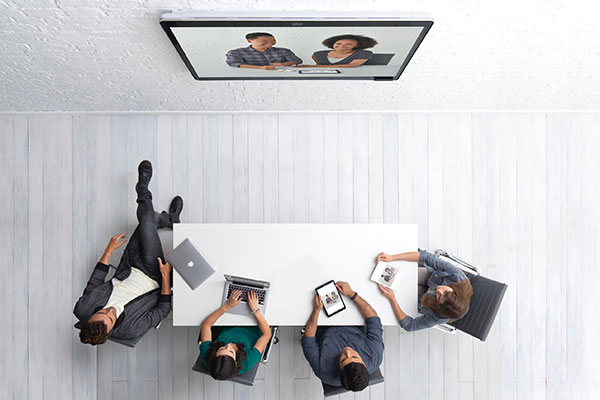 Virtual teams can collaborate anywhere