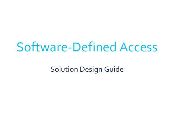 Design an SD-Access network