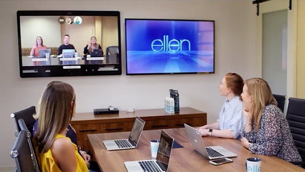 The Ellen Show uses Webex for collaboration