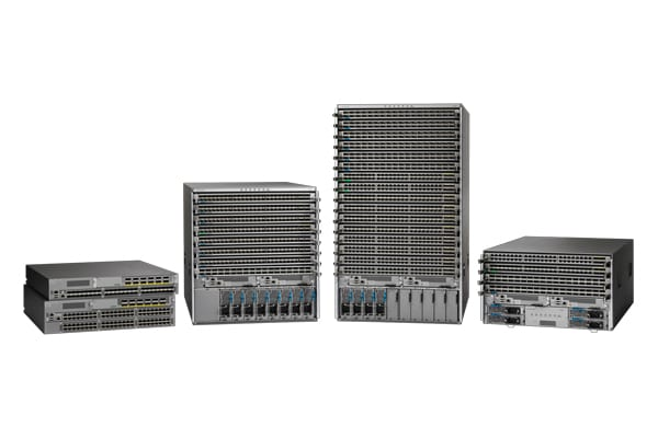 Switches Cisco Nexus de la serie 9000