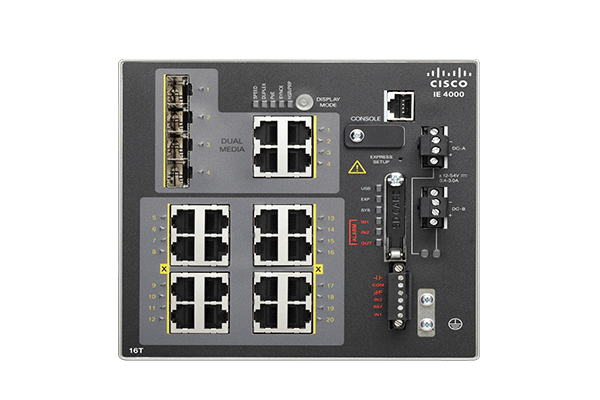 Switches para Ethernet industrial