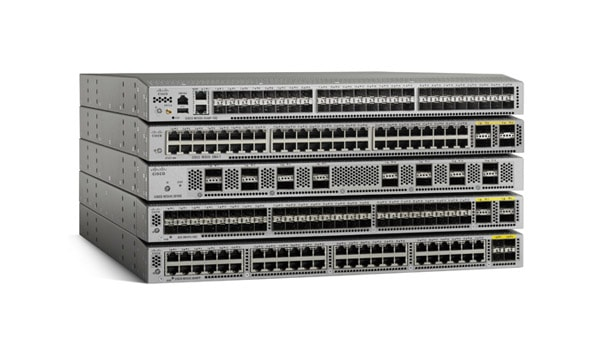Switches Nexus de Cisco serie 3000