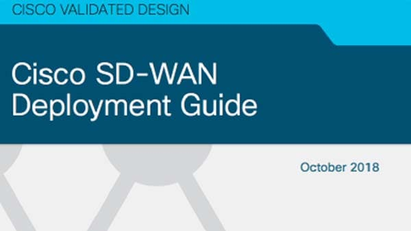 Guía de implementación de SD-WAN de Cisco