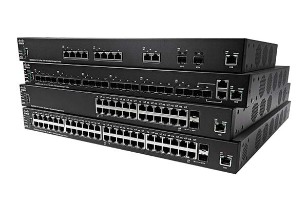 350X Series Stackable Managed Switches