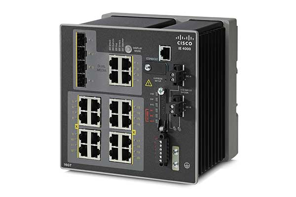 Cisco Industrial Ethernet 4000 シリーズ スイッチ