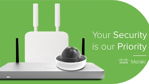 Register for your chance to win a free Cisco Meraki IT Makeover.