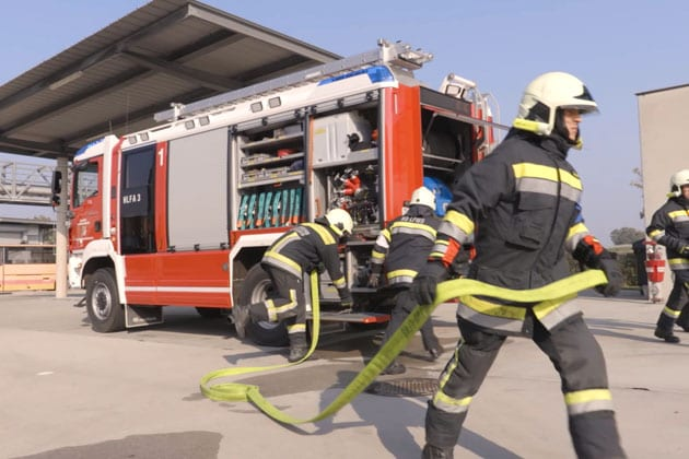 Lower Austria firefighters