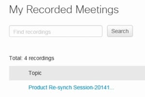 How_to_view_a_recorded_WebEx_Meeting_Center_online_meeting_and_reports