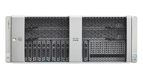 Servidor rack Cisco UCS C480 M5