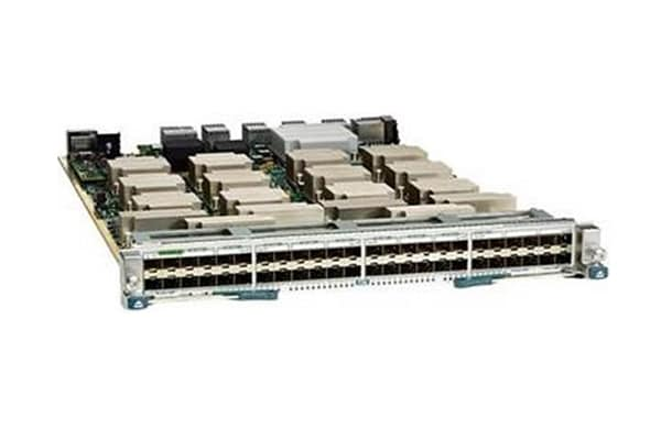 Cisco Nexus 7000 Series Enhanced F2-Series Módulo de 48 portas de 1 e 10 Gigabit Ethernet (SFP ou SFP+)