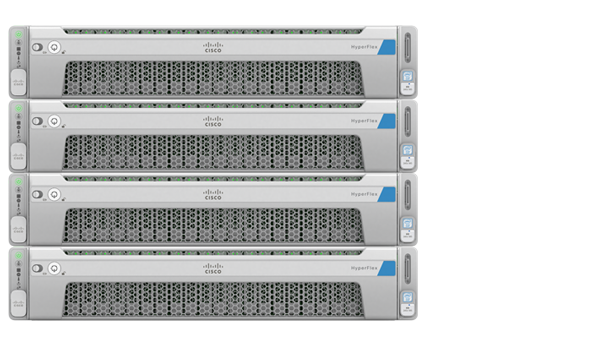 Cisco HyperFlex Hybrid Nodes
