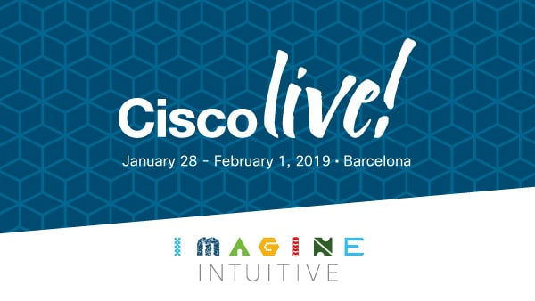 Join us at Cisco Live Barcelona