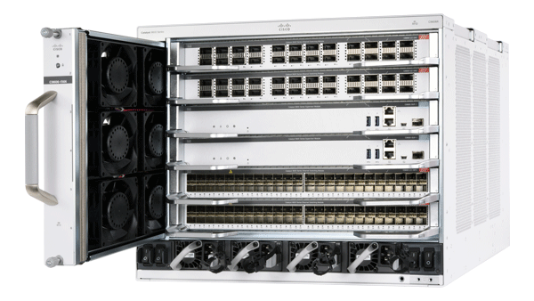 Catalyst 9600 系列 6 插槽