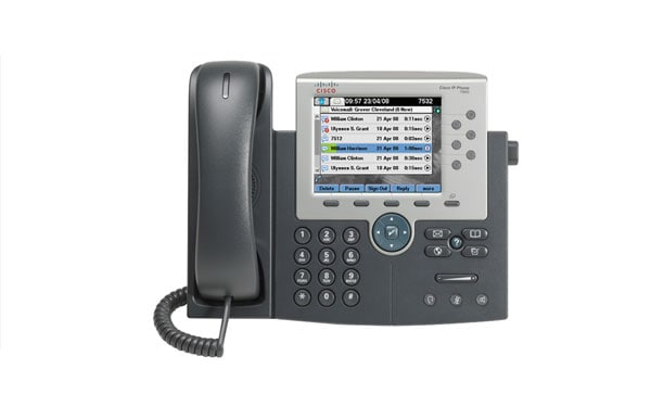 how to listen to cisco voicemail remotely