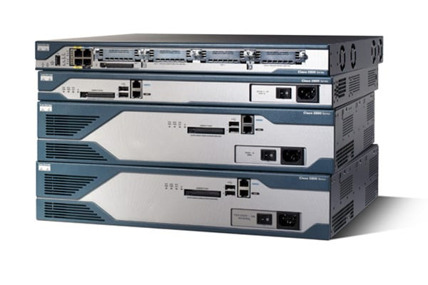 Cisco 2800 Series Integrated Services Routers - Cisco