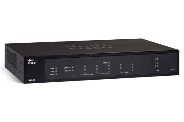 Cisco RV340 Dual WAN Gigabit VPN Router - Cisco