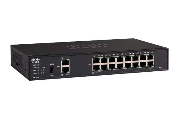 Cisco RV345 Dual WAN Gigabit VPN Router - Cisco