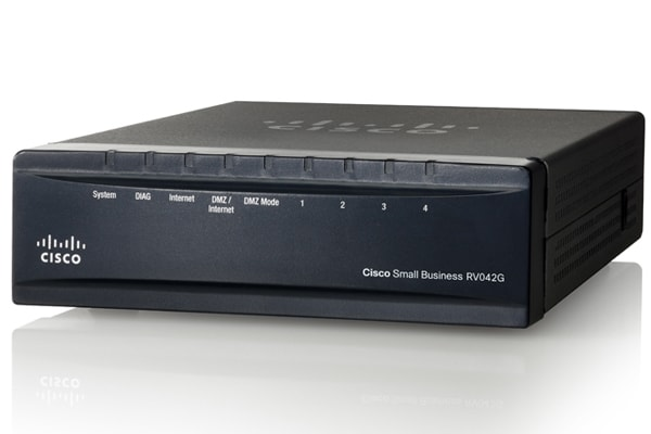 Cisco RV042G Dual Gigabit WAN VPN Router - Cisco