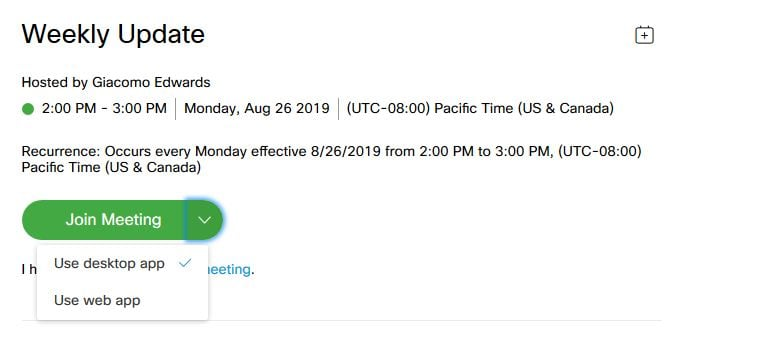 how to join webex meeting