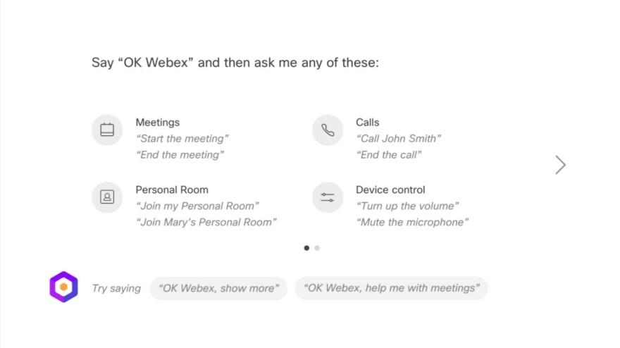 Enable Cisco Webex Assistant