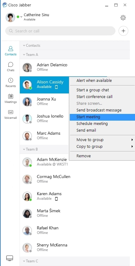 Getting Started with Cisco Jabber