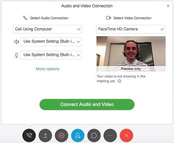 Audio and Video Connection